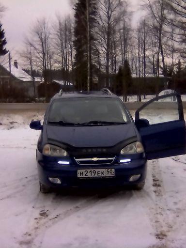 Chevrolet Rezzo, 2005