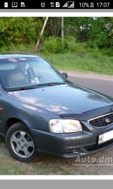 Hyundai Accent 2007 - отзыв владельца