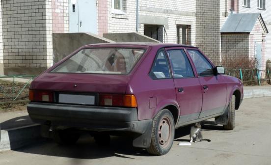 Москвич 2141 1998 - отзыв владельца