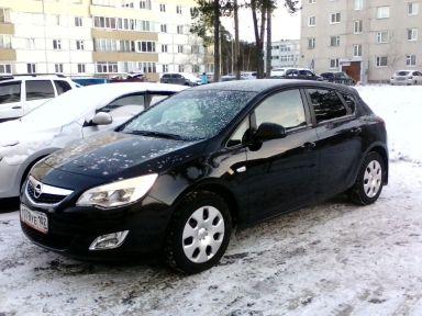 Opel Astra 2011 отзыв автора | Дата публикации 25.01.2018.