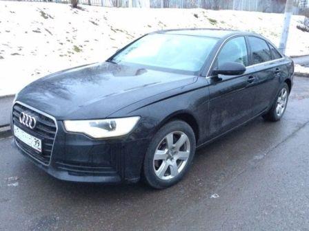 Audi A6 2014 - отзыв владельца