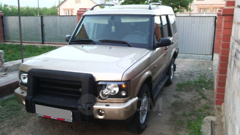 Land Rover Discovery, 2004 год, 720 000 руб.