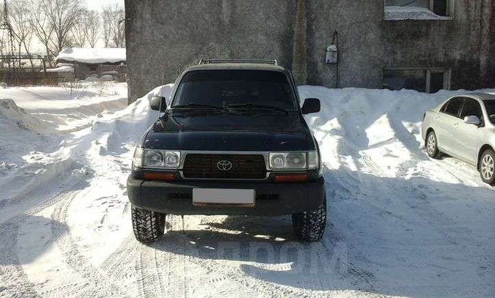 Toyota Land Cruiser, 1996 год, 585 000 руб.