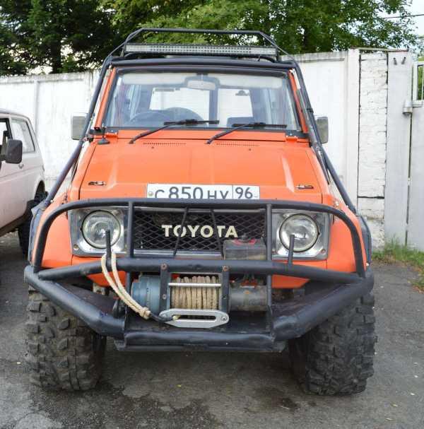 Toyota Land Cruiser, 1990 год, 880 410 руб.