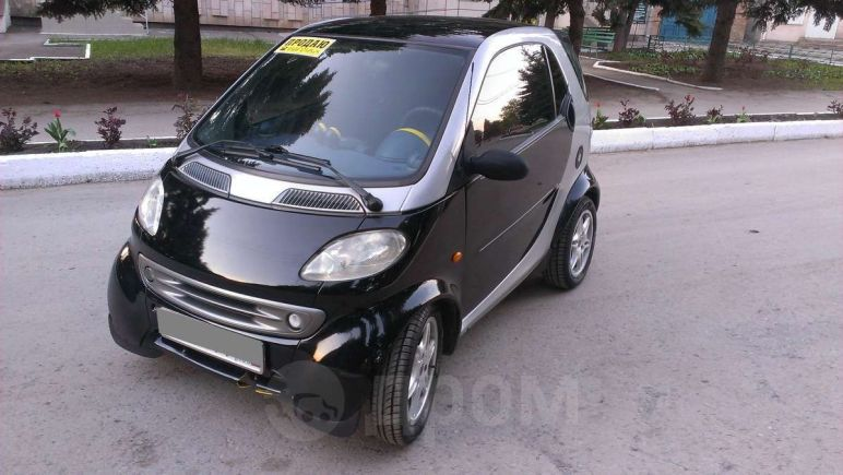 Smart Fortwo, 1999 год, 195 000 руб.