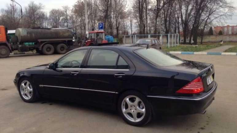 Mercedes-Benz S-Class, 2000 год, 2 800 000 руб.