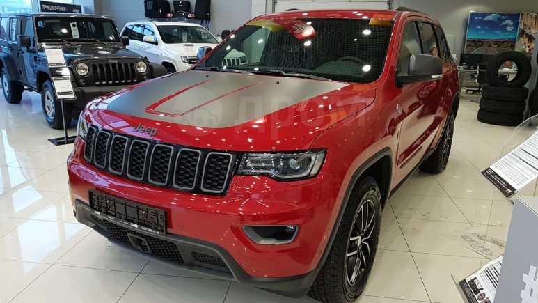 Jeep Grand Cherokee, 2017 год, 3 740 000 руб.