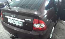 Абакан Приора 2012