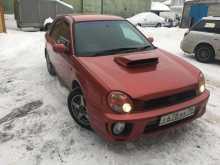 Новосибирск Импреза WRX 2000