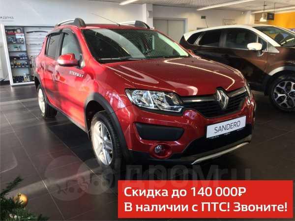 Renault Sandero Stepway, 2017 год, 819 758 руб.