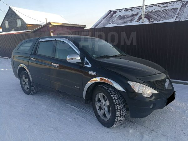 SsangYong Actyon Sports, 2008 год, 420 000 руб.