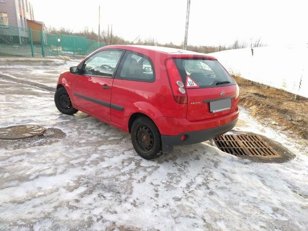 Ford Fiesta, 2007 год, 170 000 руб.