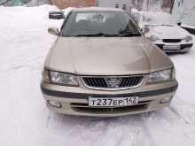 Краснобродский Ниссан Санни 2001