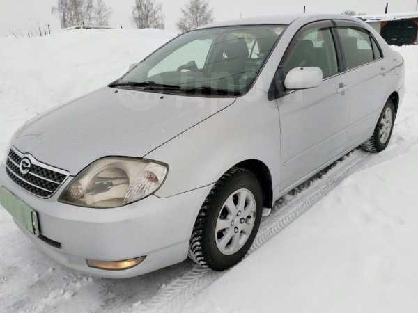 Toyota Corolla, 2002 год, 330 000 руб.