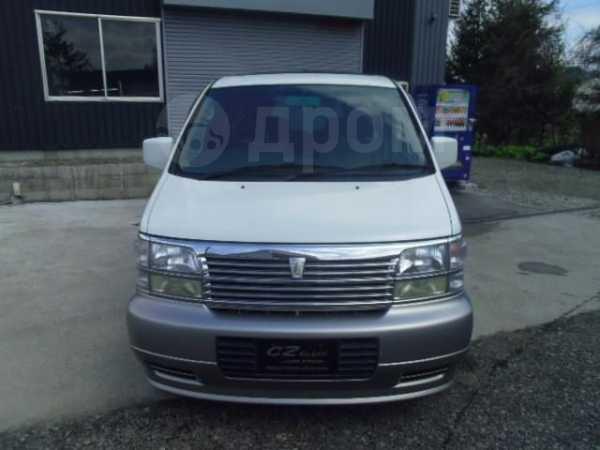 Nissan Elgrand, 1999 год, 190 000 руб.