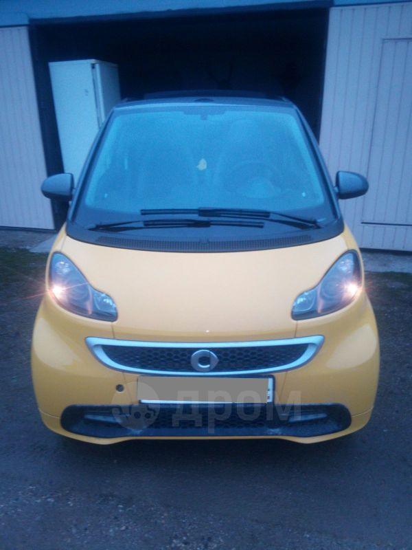 Smart Fortwo, 2015 год, 620 000 руб.