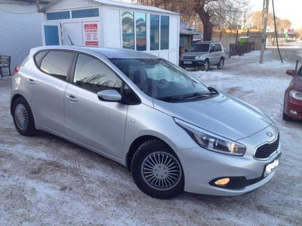 Kia cee'd, 2013 год, 570 000 руб.