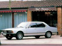 BMW 7-Series рестайлинг 1983, седан, 1 поколение, E23