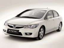 Honda Civic рестайлинг 2008, седан, 8 поколение