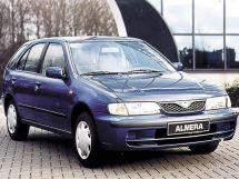 Nissan Almera 1995, хэтчбек 5 дв., 1 поколение, N15