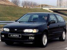 Nissan Almera рестайлинг 1998, хэтчбек 3 дв., 1 поколение, N15