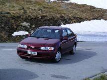 Nissan Almera рестайлинг 1998, седан, 1 поколение, N15