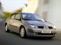 Renault Megane 2 поколение, 09.2002 - 12.2005, Седан