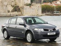 Renault Megane рестайлинг, 2 поколение, 01.2006 - 09.2009, Седан