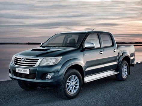 Toyota Hilux Pick Up (AN10, AN20, AN30) 07.2011 - 05.2015