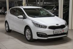 Kia cee'd 1.6 AT Luxe (01.2017)