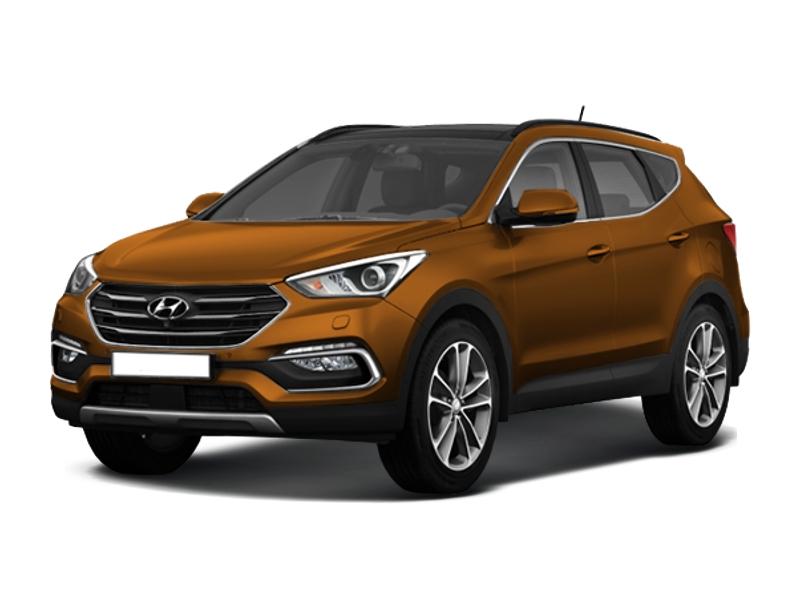 Hyundai Santa Fe, 2017 год, 1 944 000 руб.