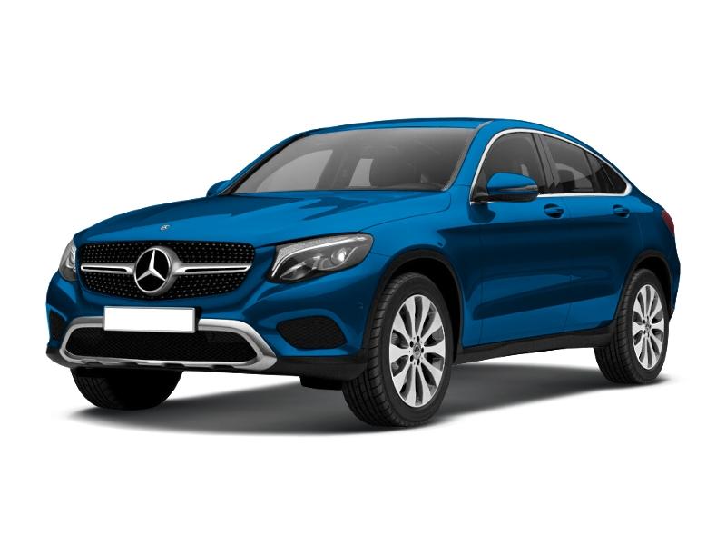 Mercedes-Benz GLC Coupe, 2017 год, 3 750 000 руб.