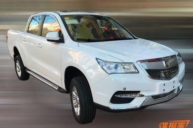 Китайского клона Acura MDX превратили в пикап