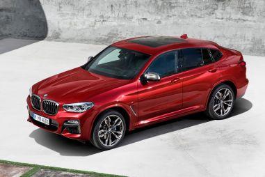 Новый BMW X4: размеры увеличились, вес уменьшился