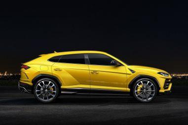 В Москве прошла российская презентация первого кроссовера Lamborghini