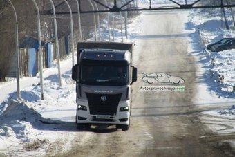 Серийное производство нового «КАМАЗа» начнется в 2019 году.