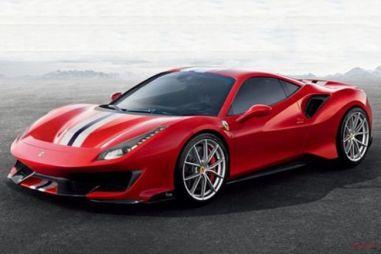 Трековая версия Ferrari 488 получит название Pista
