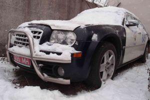 Белорусское МВД продает Chrysler 300C 5.7 HEMI из эскорта Лукашенко
