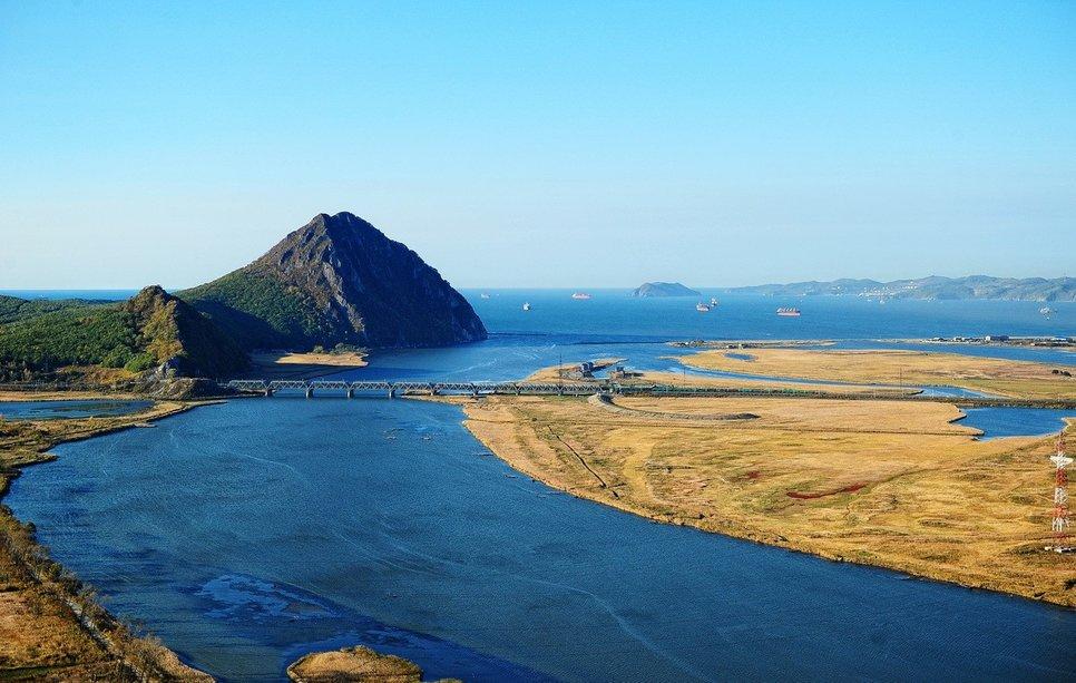 Окрестности Находки: река Партизанская, гора Сестра