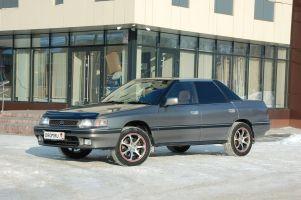 Народное ретро. Subaru Legacy 1990года. Демонстратор возможностей