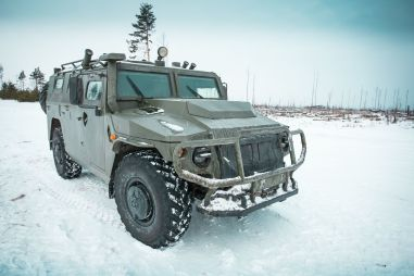 Тест-драйв бронеавтомобиля «Тигр». Зона комфорта