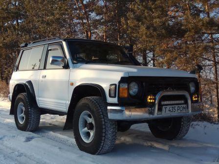 Nissan Safari 1995 - отзыв владельца