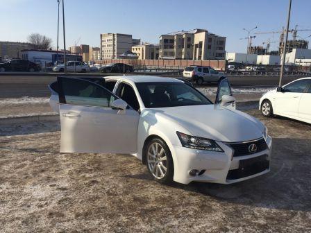 Lexus GS250 2013 - отзыв владельца