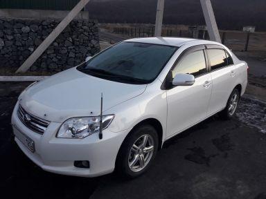 Toyota Corolla Axio 2008 отзыв автора | Дата публикации 01.02.2018.
