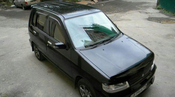 Nissan Cube 1999 - отзыв владельца