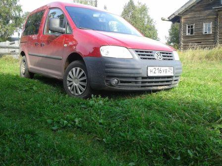 Volkswagen Caddy 2010 - отзыв владельца