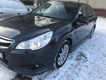 Subaru Legacy 2011 - отзыв владельца