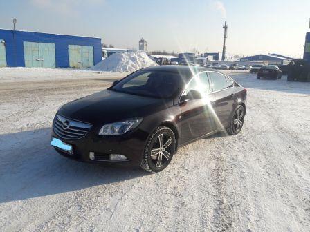 Opel Insignia 2012 - отзыв владельца