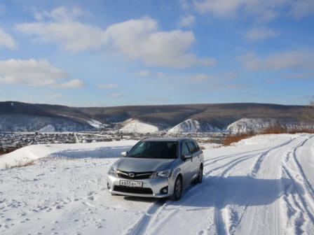 Toyota Corolla Fielder 2012 - отзыв владельца