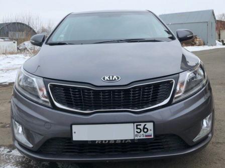 Kia Rio 2014 - отзыв владельца